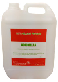 Acid Cleaner Products In Dubai